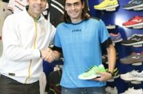 Con Juan José Mieres